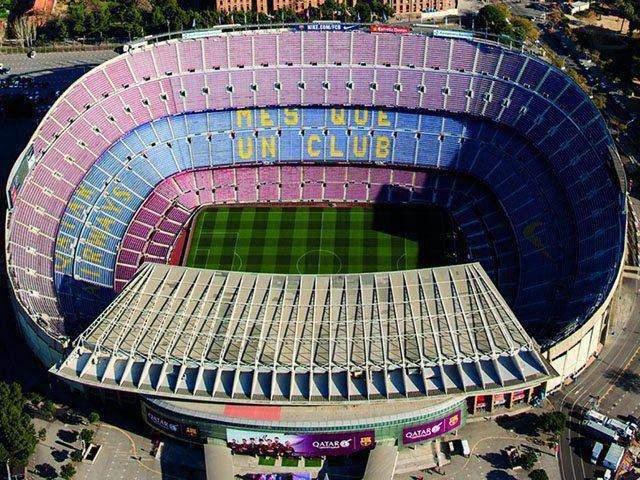 san van dong Camp Nou